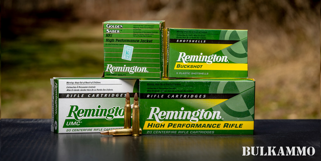 Remington ammunition for sale at cheap prices from BulkAmmo.com