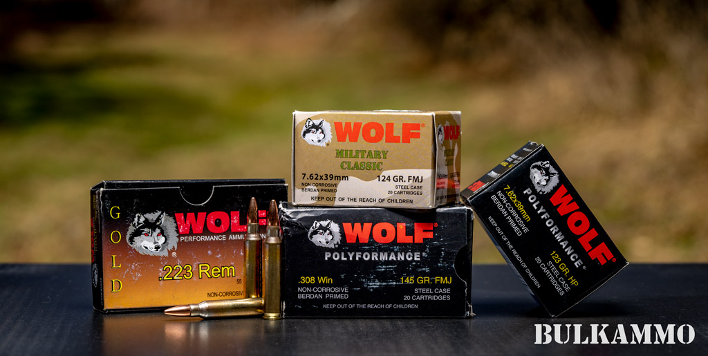 Wolf ammo for sale
