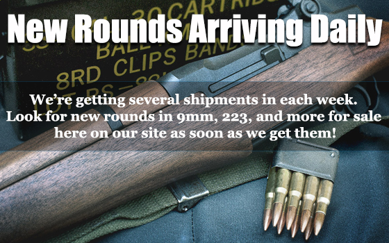 bulk ammo message about in-stock rounds