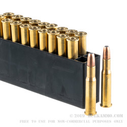 200 Rounds of 30-30 Win Ammo by PMC Precision - 150gr SPRN