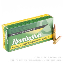20 Rounds of .300 AAC Blackout Ammo by Remington - 220gr OTM