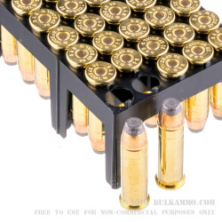 50 Rounds of .38 Spl Ammo by Sellier & Bellot - 158gr SJSP