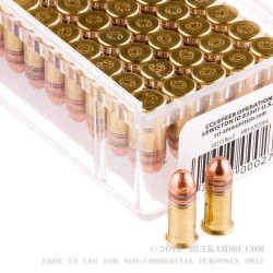 5000 Rounds of .22 Short Ammo by CCI - 29gr Copper Plated Round Nose