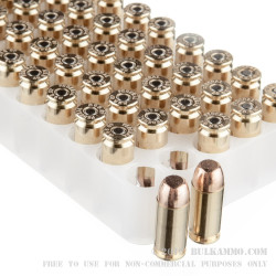 1000 Rounds of .40 S&W Ammo by Federal - 180gr FMJ