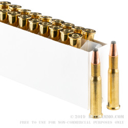 20 Rounds of 30-30 Win Ammo by Prvi Partizan - 170gr FSP