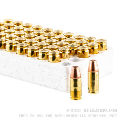 500  Rounds of 9mm Ammo by Winchester - 147gr TC-MC