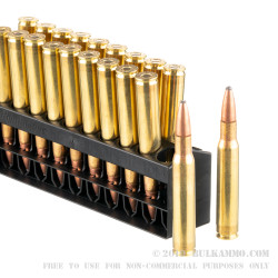 200 Rounds of 30-06 Springfield Ammo by Remington - 165gr PSP