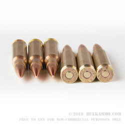500 Rounds of 7.62x51mm Ammo by Federal -  XM80C - 149gr FMJ