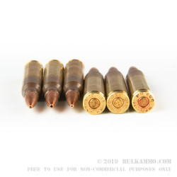 20 Rounds of 5.56x45 Ammo by Winchester Match - 77gr HPBT
