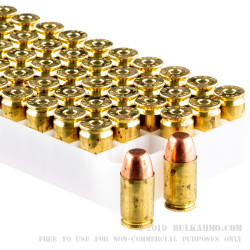 50 Rounds of .45 GAP Ammo by Speer - 185gr TMJ