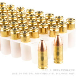 1000 Rounds of 9mm Ammo by Speer Lawman - 124gr TMJ