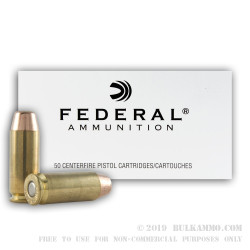 1000 Rounds of 10mm Ammo by Federal - 180gr FMJ