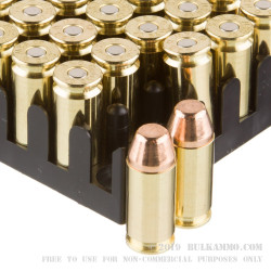 50 Rounds of .40 S&W Ammo by Sellier & Bellot - 165gr FMJ
