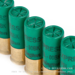 15 Rounds of 12ga Ammo by Remington - 00 Buck