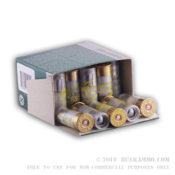 25 Rounds of 12ga Ammo by Sellier & Bellot - 1 ounce Rifled Slug