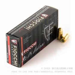 1000 Rounds of 9x18mm Makarov Ammo by Fiocchi - 95gr FMJ