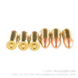 1000 Rounds Loose Pack of 9mm Ammo by Blazer Brass - 115gr FMJ