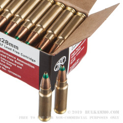 50 Rounds of 5.7x28 mm Ammo by FN Herstal - 27gr Lead Free JHP