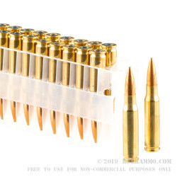 200 Rounds of .308 Win Ammo by Federal - 175gr HPBT