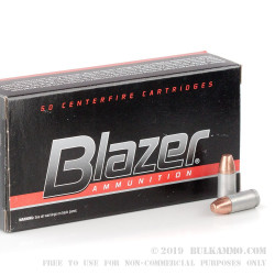 1000 Rounds of 9mm Ammo by Blazer Clean-Fire - 147gr TMJ