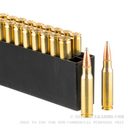 20 Rounds of .308 Win Ammo by Hornady Interlock - 165gr SP