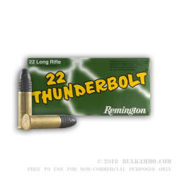 3500 Rounds of .22 LR Ammo by Remington - 40gr LRN