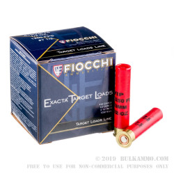 """25 Rounds of .410 2-1/2"""" Ammo by Fiocchi - 1/2 ounce #7 1/2 shot"""
