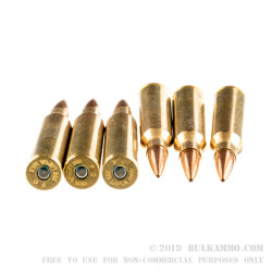 20 Rounds of .338 Lapua Ammo by Federal Gold Medal - 300 gr HPBT