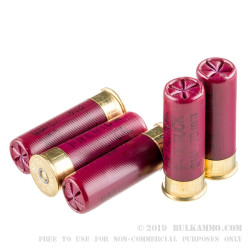 5 Rounds of 12ga Ammo by Federal LE Tactical -  00 Buck