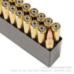 20 Rounds of .270 Win Ammo by Hornady - 130gr SST