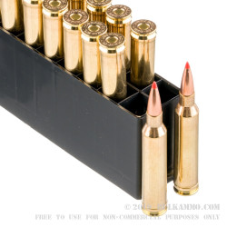 20 Rounds of 7mm Rem Mag Ammo by Hornady Superformance - 139gr SST