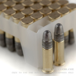 500 Rounds of .22 LR Match Ammo by Federal Gold Medal - 40gr LRN
