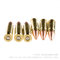 500  Rounds of .300 AAC Blackout Ammo by Fiocchi - 150gr FMJ