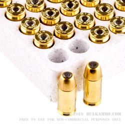 50 Rounds of .380 ACP Ammo by Winchester WinClean - 95gr BEB