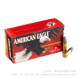 5000 Rounds of .22 LR Ammo by Federal - 40gr LRN