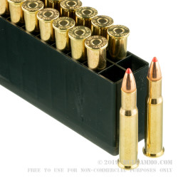 200 Rounds of 30-30 Win Ammo by Hornady - 160gr FTX