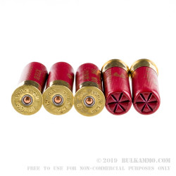 5 Rounds of 12ga Ammo by Federal Vita-Shok with Flitecontrol Wad -  00 Buck 12 Pellet
