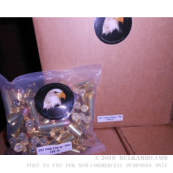 100 Rounds of .357 Mag Ammo by MBI - New - 158gr FMJ