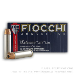 500  Rounds of .357 Mag Ammo by Fiocchi - 158gr JHP