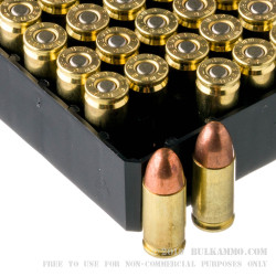 100 Rounds of 9mm Ammo by Remington - 115gr MC