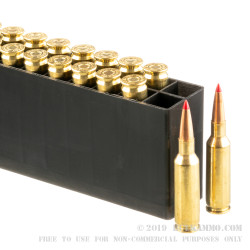 20 Rounds of .224 Valkyrie Ammo by Hornady - 88gr ELD Match