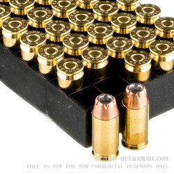 1000 Rounds of .45 ACP Ammo by PMC - 185gr JHP