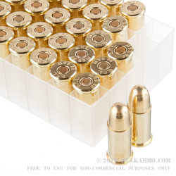 50 Rounds of .38 S&W Ammo by Fiocchi - 145gr FMJ