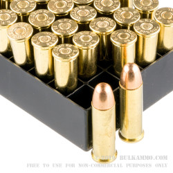 50 Rounds of .38 Spl Ammo by Fiocchi - 158gr FMJ