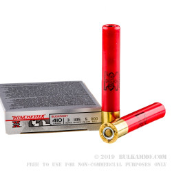 5 Rounds of .410 Ammo by Winchester Super-X -  000 Buck