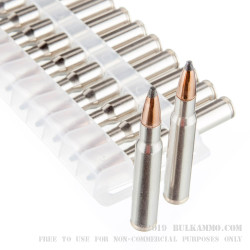 20 Rounds of 30-06 Springfield Ammo by Federal Sierra GameKing - 165gr SPBT
