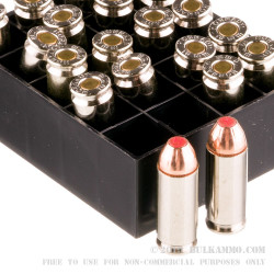 20 Rounds of 10mm Ammo by Hornady Critical Duty - 175  Grain FTX