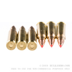 20 Rounds of 6.8 SPC Ammo by Hornady BLACK - 110gr V-MAX