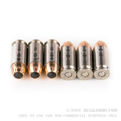 1000 Rounds of .40 S&W HST Ammo by Federal LE - 180gr JHP