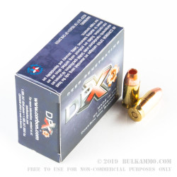 20 Rounds of .45 ACP +P Ammo by Corbon DPX - 185gr SCHP